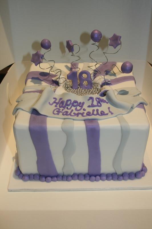 18th Birthday Cake Christee Lee Cakes