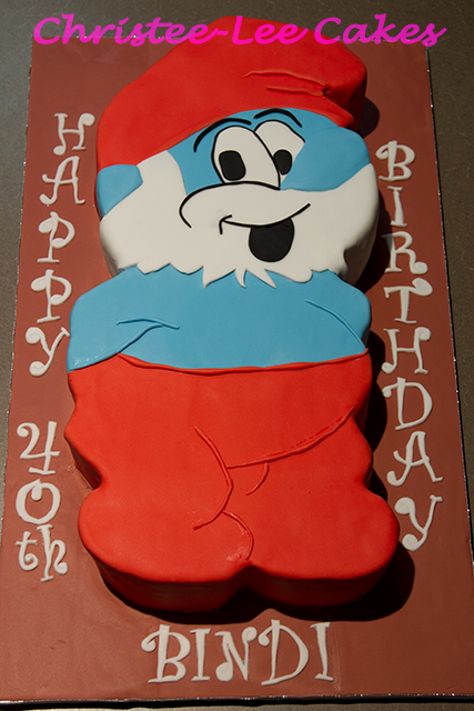 A Smurfy 40th Birthday