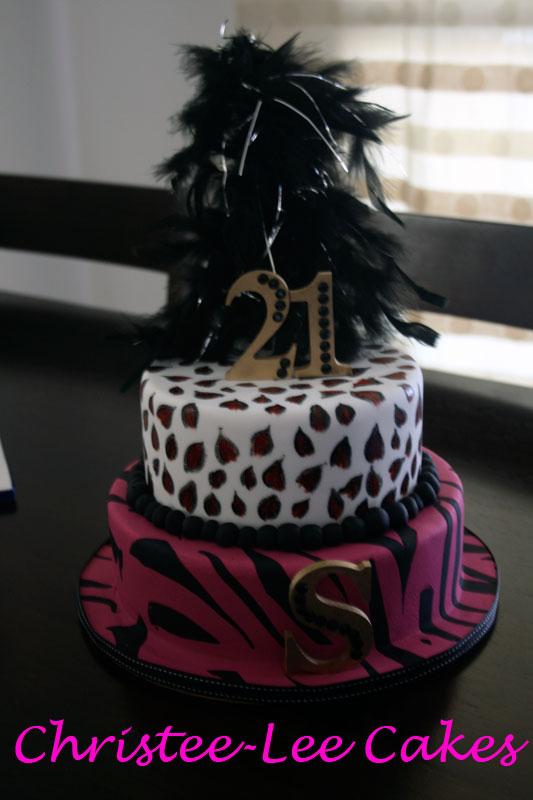 Stephanies 21st Cake Christee Lee Cakes