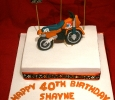 Shayne's 40th Cake
