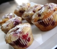 Almond & Raspberry Cup Cakes