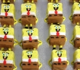 Mini Spongebob Cakes