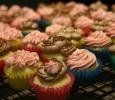 Petite Vanilla Cupcakes